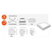LED Ein-/ Unterterbaupanel