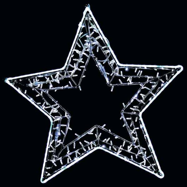 "QuickFix LED Mast/Wand-Motiv ""Libra Star"""