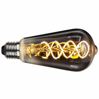 Spiral LED Filament Smoke E27