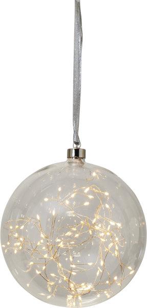 """LED Glaskugel """"Glow"""" klar"""