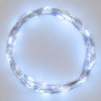 LED-Drahtlichterkette Knopf-Batteriefach