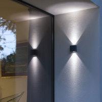 LED Außenwandleuchte up/down PABLO
