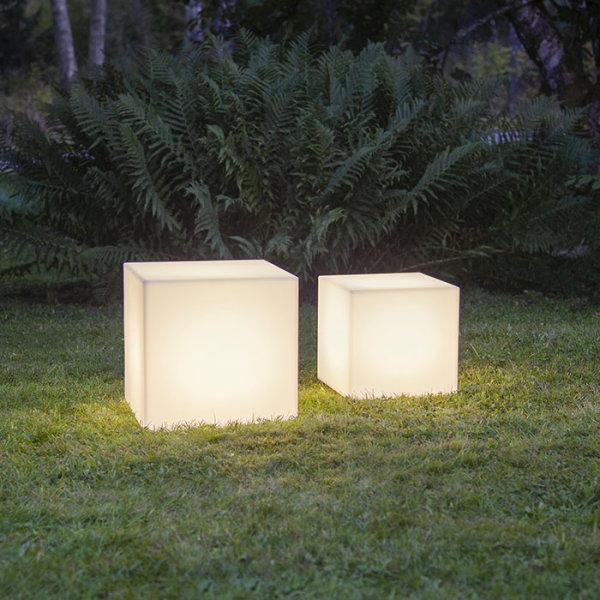 LED Deko Würfel E27
