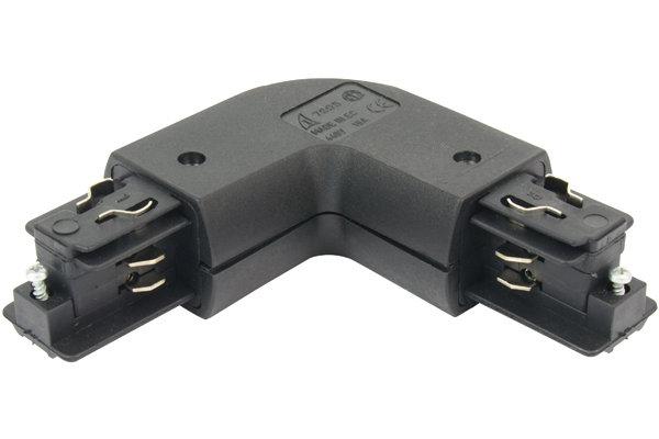 11 3-Phasen Eckverbinder rund innen schwarz