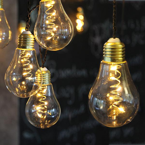 LED Lichterkette Glow 830 3,6m Glas