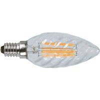 Filament LED Kerzen gedreht 5W=37W E14 dimmbar