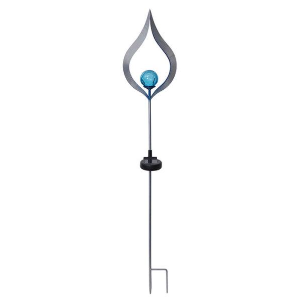 """LED Solar-Gartenstab """"Melilla"""" 85cm blau"""