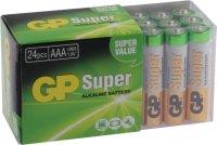 Super Alkaline Micro LR03 AAA 24er Multipack