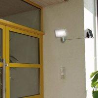 Solar LED-Strahler SOL 80 4W 860 silber IP44