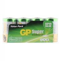 Super Alkaline Mono LR20 D 4er Pack