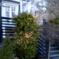 "LED Solar-Hänger ""Firework"" warmweiß..."