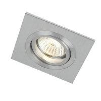 Einbaustrahler-Aluminium eckig