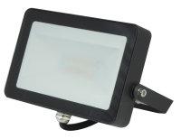LED Color Wand-Strahler 10W 830+RGB schwarz inkl. 30cm...